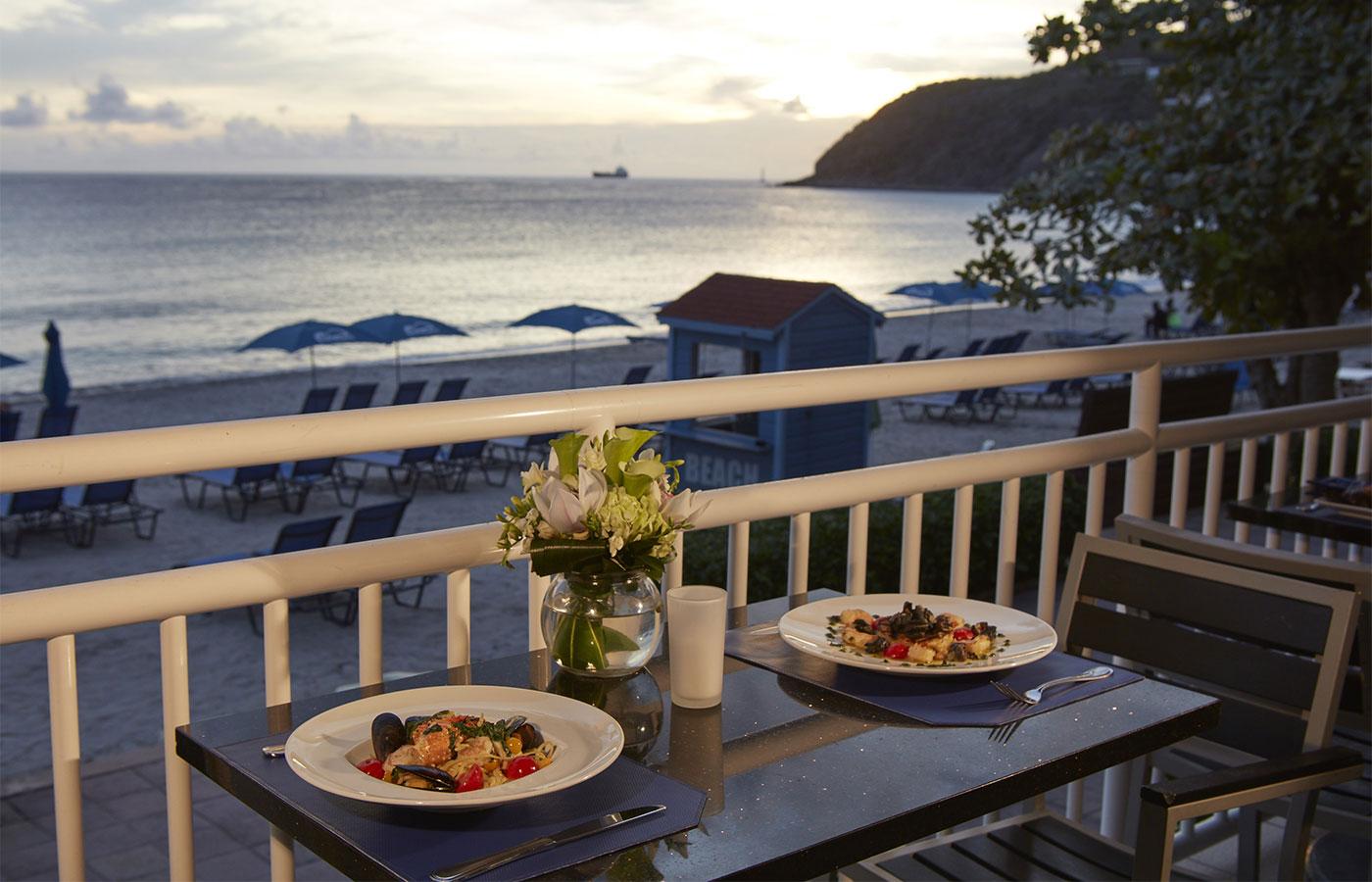 St Maarten Pureocean Restaurant